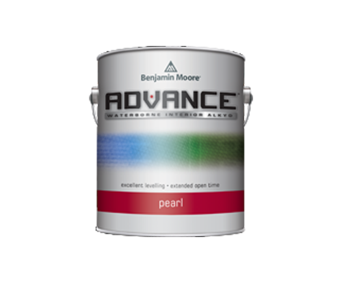 a can of advance paint by benjamin moore