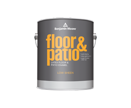 A Can Of Floor And Patio Paint By Benjamin Moore