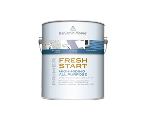 a can of fresh start by benjamin moore