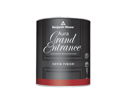 a can of gran entrance paint by benjamin moore