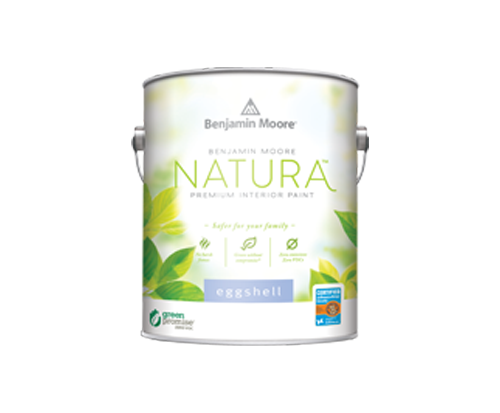 a can of natura paint by benjamin moore